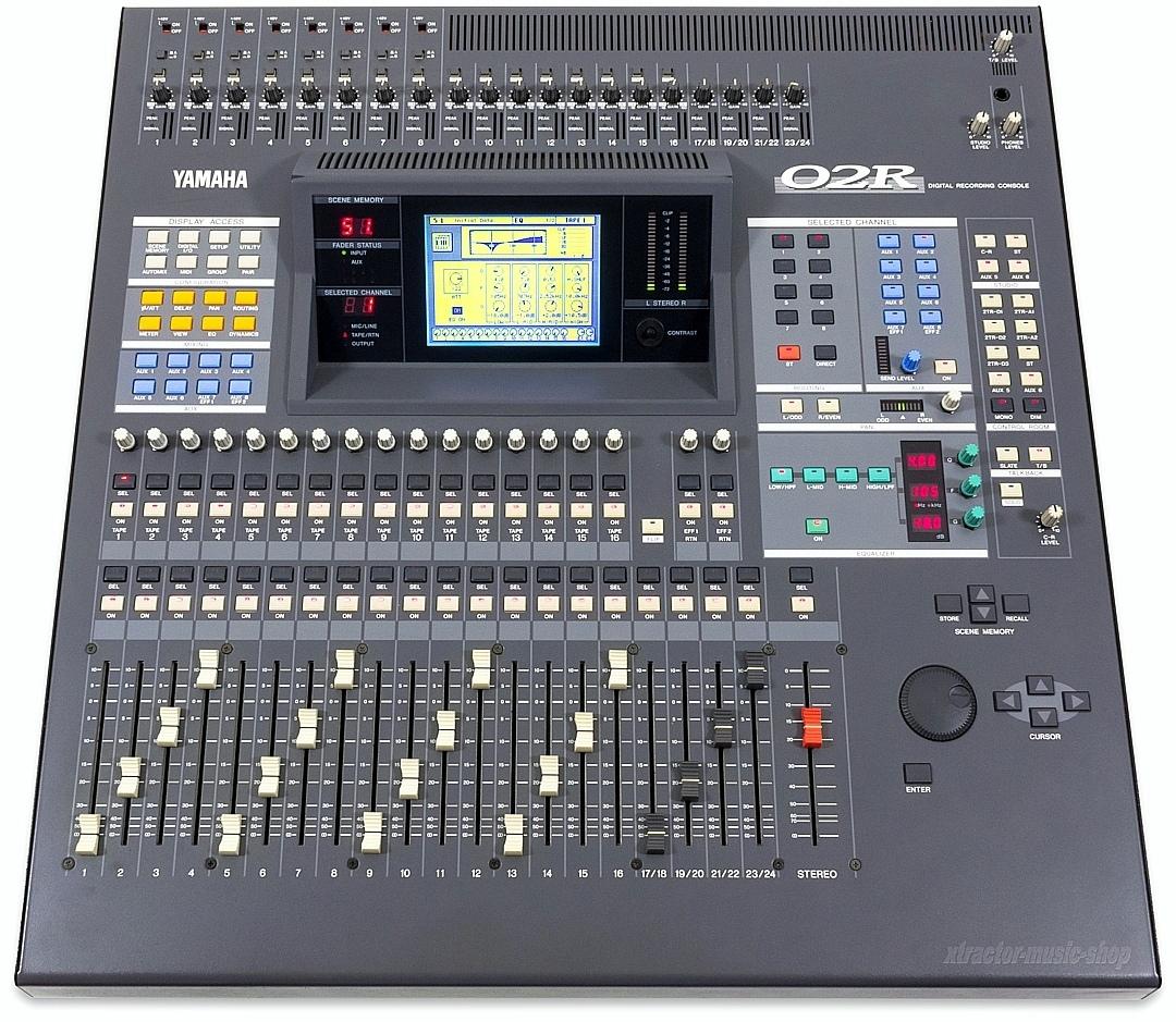 yamaha 02r digital mixer mixing console mixer o2r version. Black Bedroom Furniture Sets. Home Design Ideas