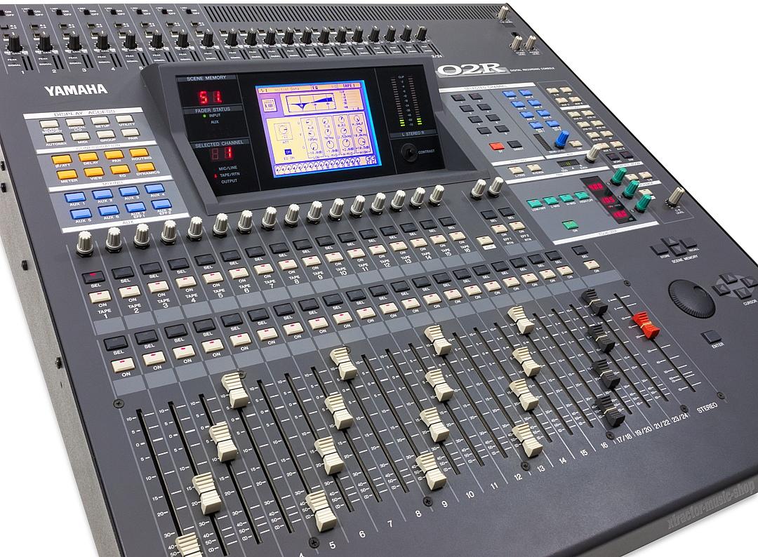 Yamaha Digital Mixer O2r : yamaha 02r digitalmischpult mixing console mixer o2r version 2 1j gew hr ebay ~ Russianpoet.info Haus und Dekorationen