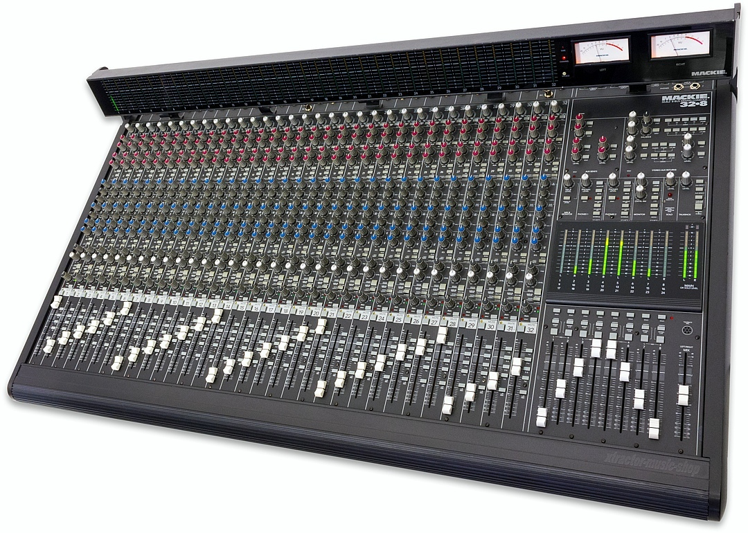 mackie 8 channel mixer manual