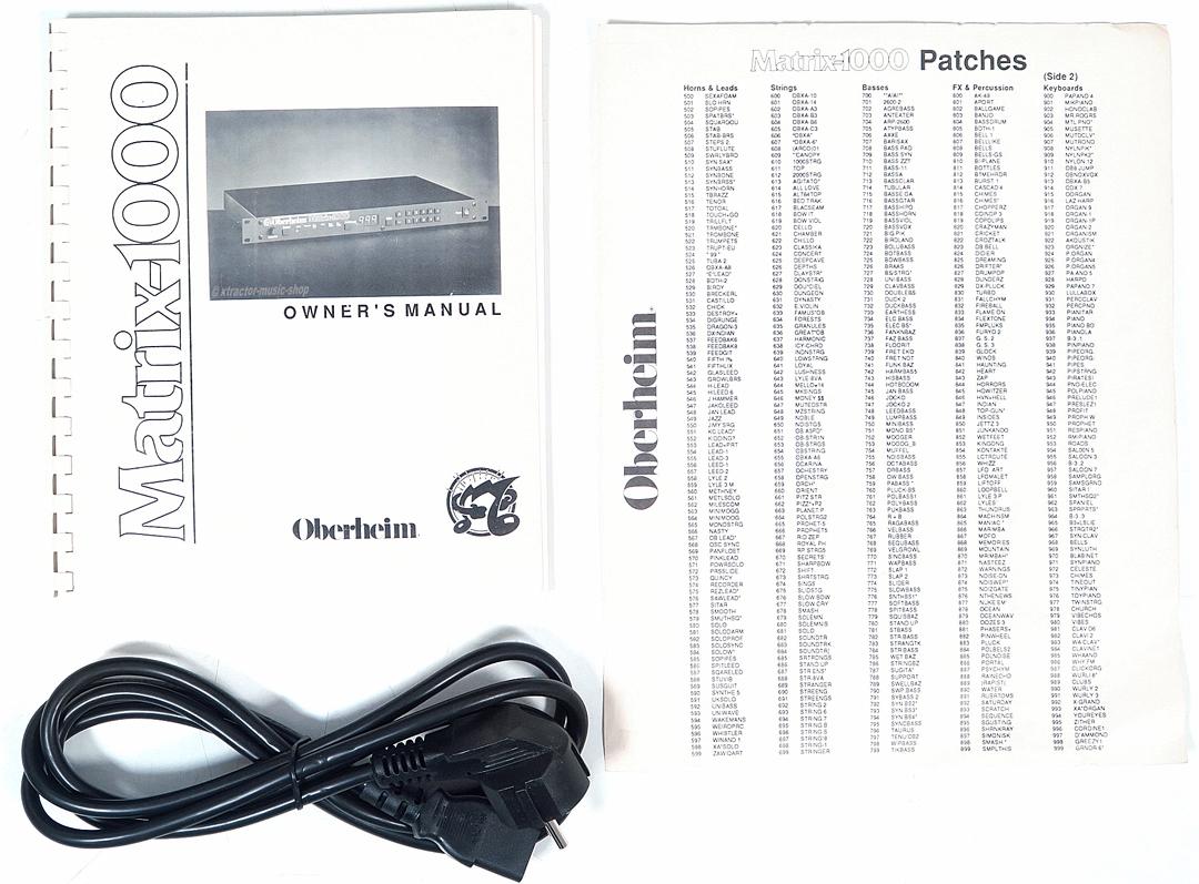 oberheim matrix 1000 analog vintage rack synthesizer black   rechng gew u00c4hr  ebay Oberheim VST Oberheim OB3