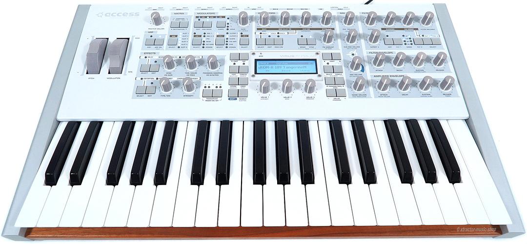 access virus ti polar synthesizer keyboard rechng gew hr ebay. Black Bedroom Furniture Sets. Home Design Ideas
