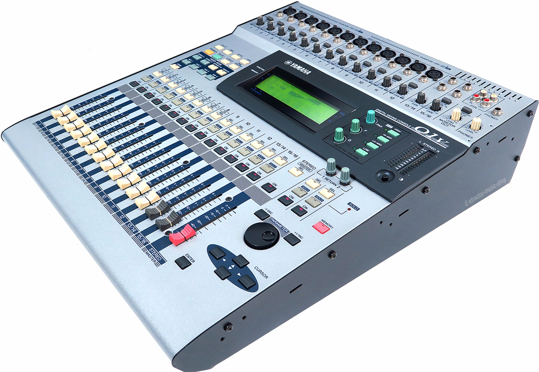 yamaha 01v digital mixing console o1 v digital mixing console mixer rechng warranty ebay. Black Bedroom Furniture Sets. Home Design Ideas
